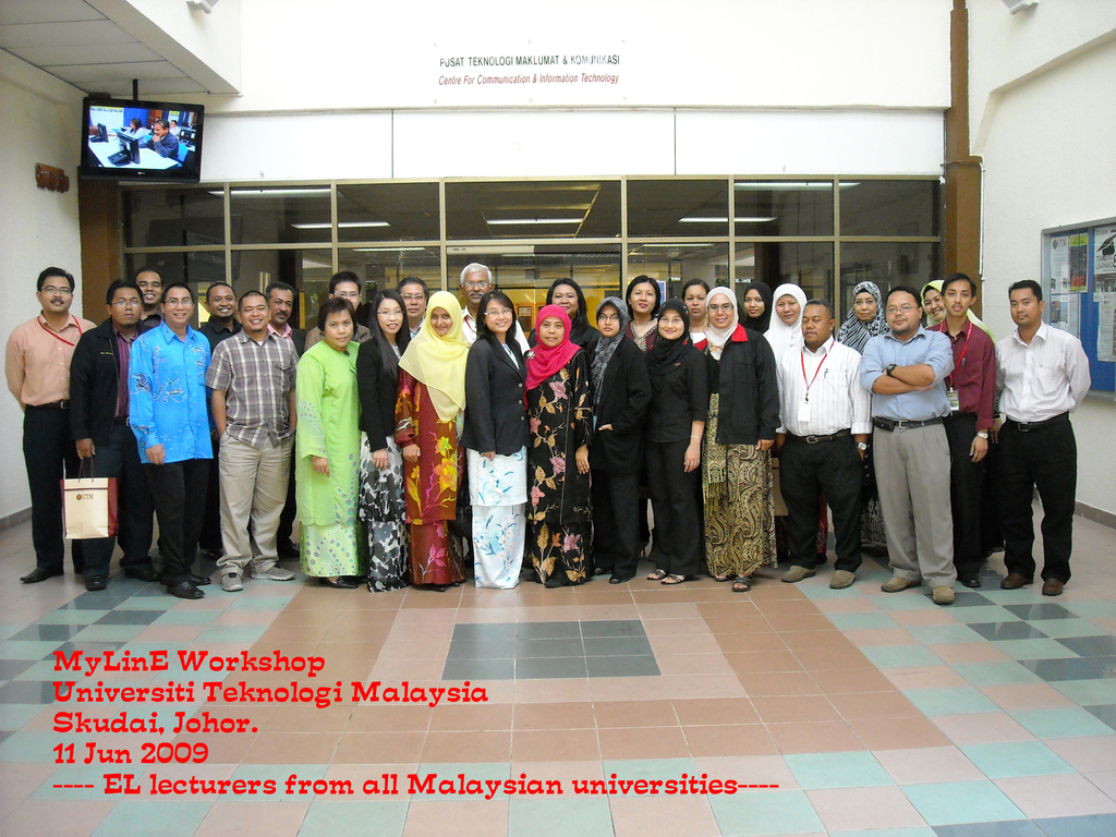 Picture MyLinE Training 2009